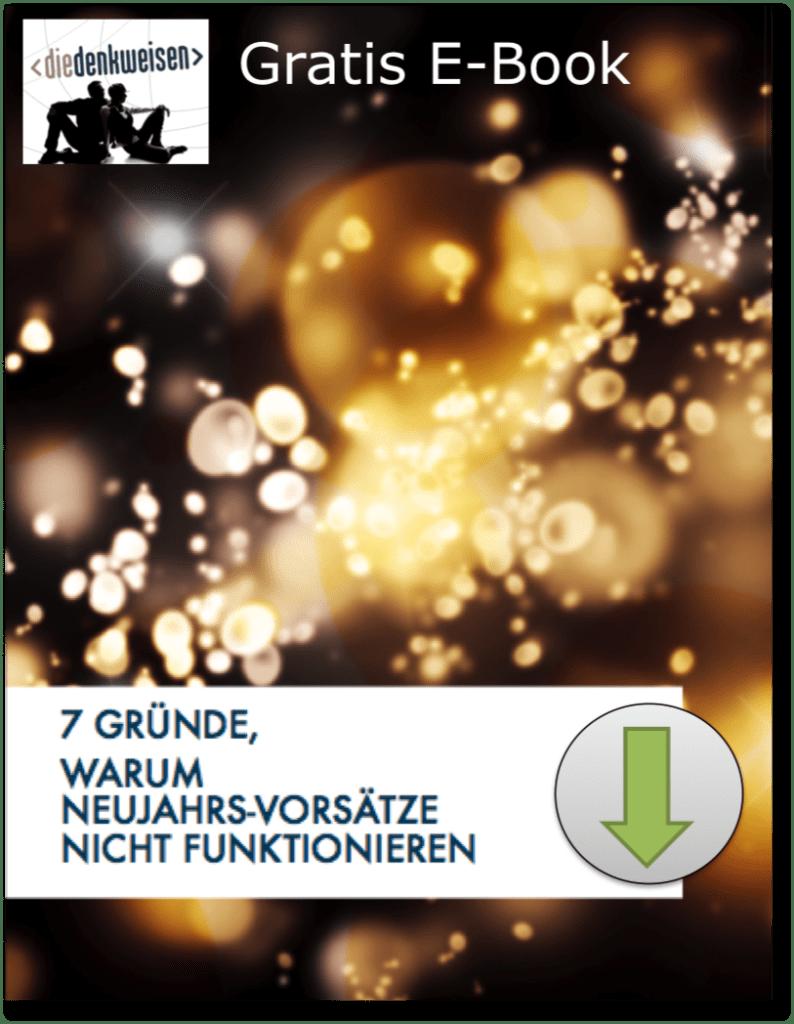 Gratis E-Book für Neujahrsvorsätze