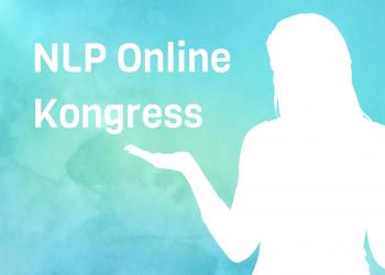 Watercolor Frau zeigt zum NLP Online Kongress